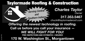Serving Central And Southern Indiana