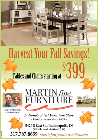 Harvest Your Fall Savings!