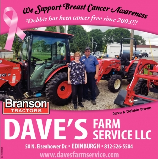 We Support Breast Cancer Awareness