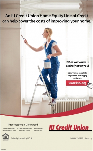 An IU Credit Union Home Equity Line Of Credit Can Help Cover The Cost Of Improving Your Home