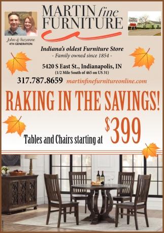 Raking In The Savings!