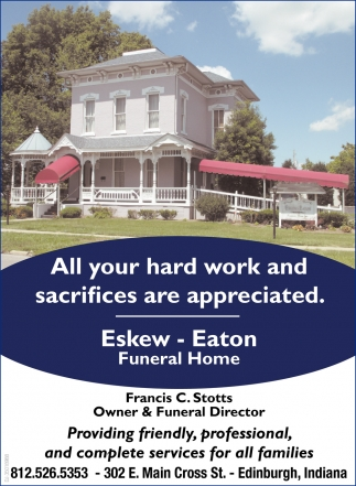 All Your Hard Work And Sacrifices Are Appreciated.