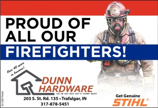Proud Of All Our Firefighters!