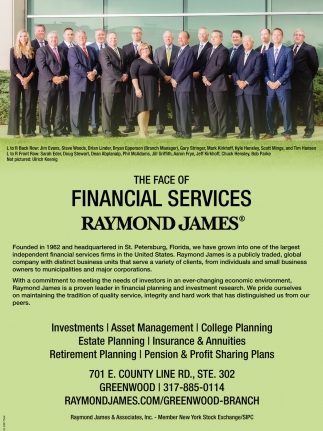 The Face Of Financial Services