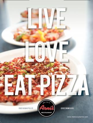 Live, Love, Eat Pizza