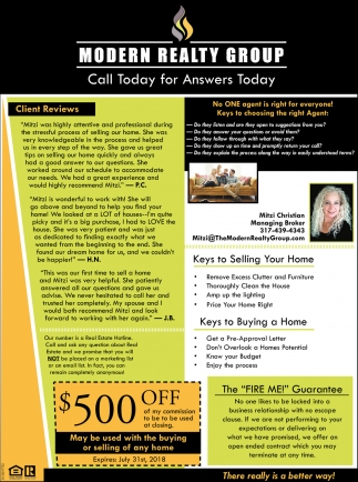 Call Today For Answers Today