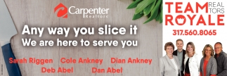 Any Way You Slice It We Are Here To Serve You.
