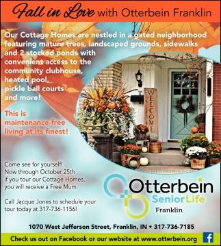 Fall In Love With Otterbein Franklin