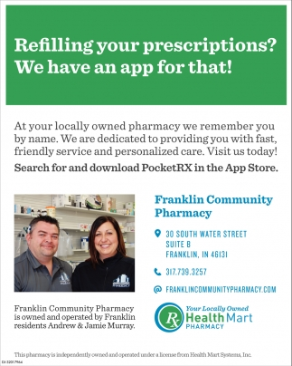 Refilling Your Prescriptions? We Have An App For That!
