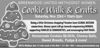 Cookie Walk & Crafts
