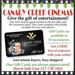 Give The Gift Of Entertainment!