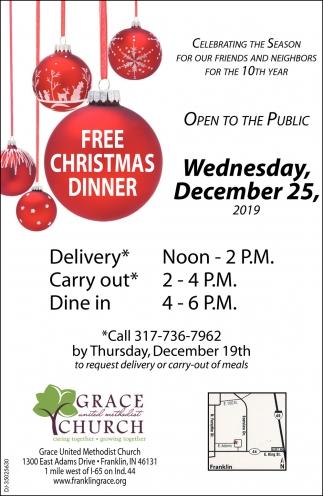 Free Christmas Dinner