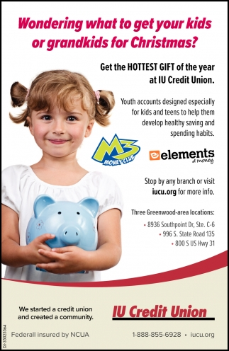Get The Hottest Gift Of The Year At IU Credit Union.