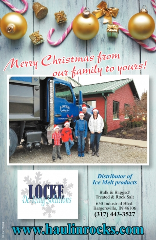 Distributor Of Ice Melt Products