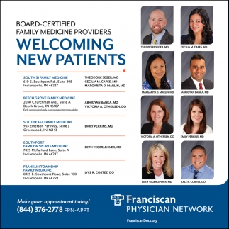 Welcoming New Patients.