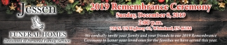 2019 Remembrance Ceremony