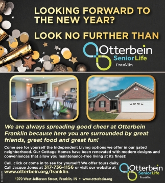 Looking Forward to The New Year? Look No Further Than Otterbein Senior Life