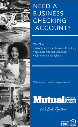 Need A Business Checking Account?