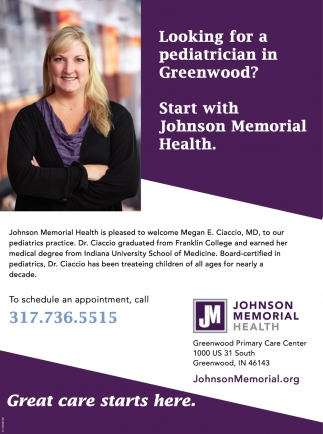 Looking For A Pediatrician In Greenwood?