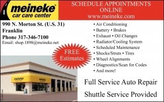 Schedule Appointments Online