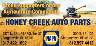 Proud Supporters Of Our Agriculture Community
