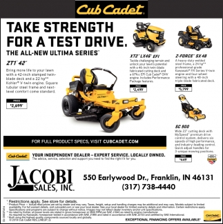 Take Strength For A Test Drive
