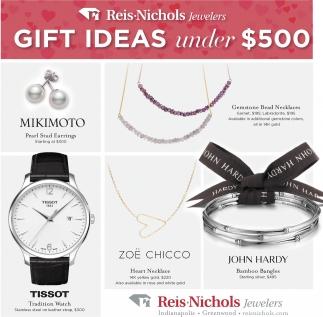 Gift Ideas Under $500