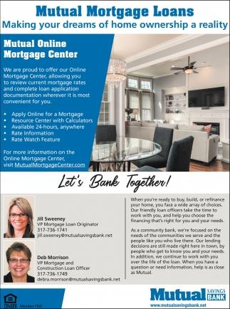 Mutual Mortgage Loans