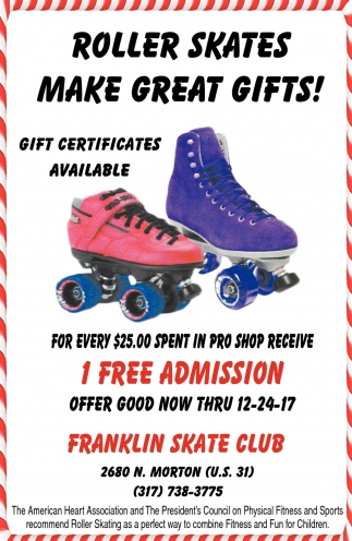 Roller Skates Make Great Gifts!