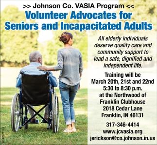 Volunteer Advocates For Senior And Incapacitated Adults