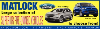 Superior Pre Owned Vehicles