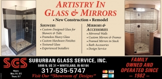 Artistry In Glass And Mirrors