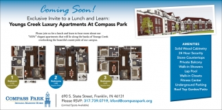 Youngs Creek Luxury Apartments At Compass Park