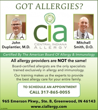 Got Allergies?