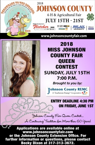 2018 Johnson County 4-H And Agricultural Fair