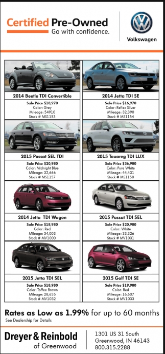 Pre-Owned Truck And SUV Sales Event