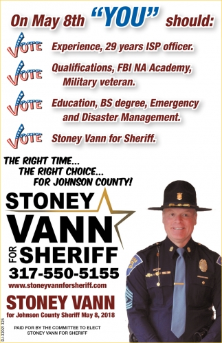 The Right Time The Right Choice... For Johnson County!
