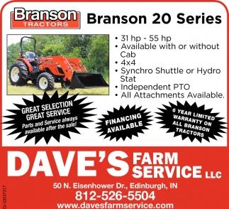 Branson 20 Series