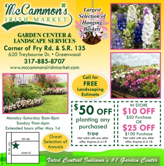 Garden Center And Landscape Service