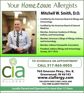 Your Hometown Allergists