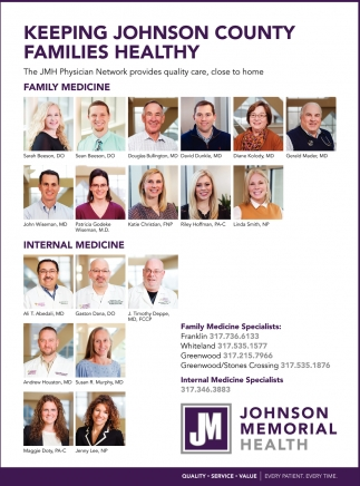 Keeping Johnson County Families Healthy