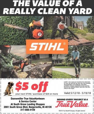 The Value Of A Really Clean Yard