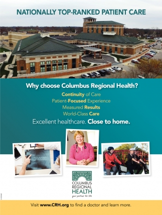 Nationally Top-Ranked Patient Care