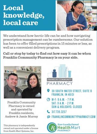 Local Knowledge, Local Care