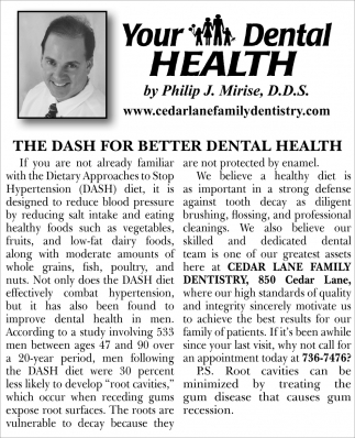 The Dash For Better Dental Health