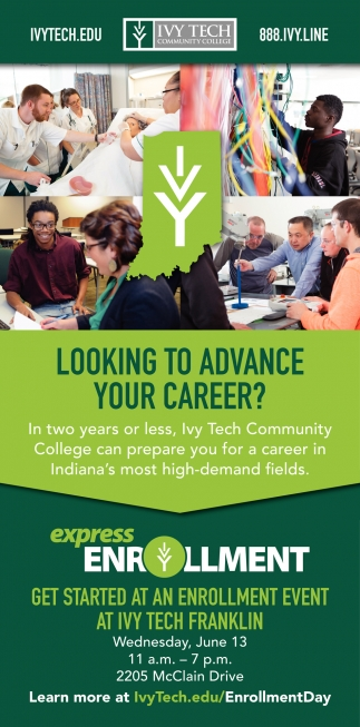 Looking To Advance Your Career?