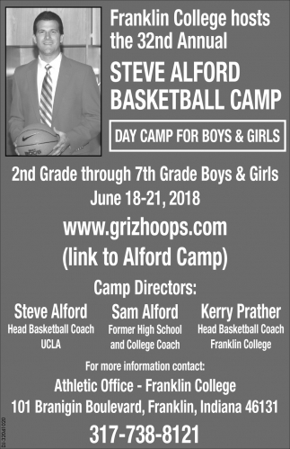 Steve Alford Basketball Camp