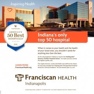 Indiana's Only Top 50 Hospital